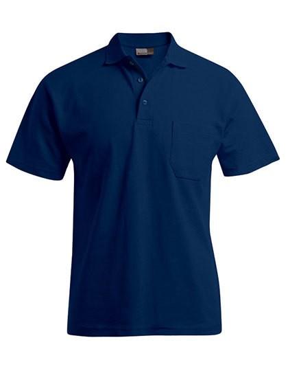 Herren Heavy Polo-Shirt marine Gr. 5XL