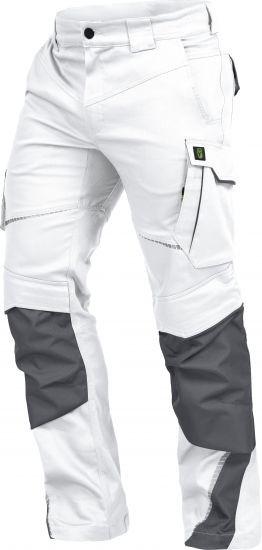 Bundhose weiß-grau